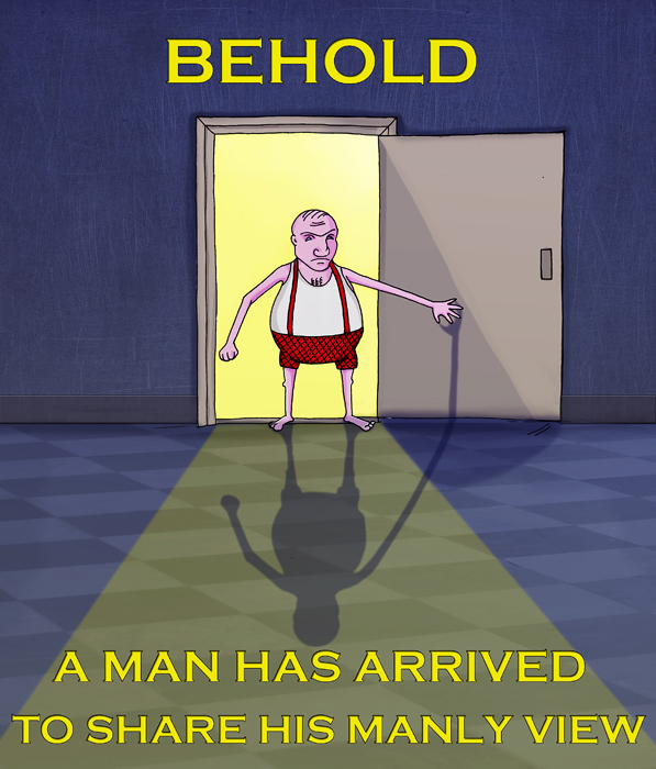 Behold! A Man Has Arrived
